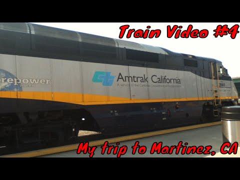 Mikey's Amtrak trip #2 (Martinez, CA)