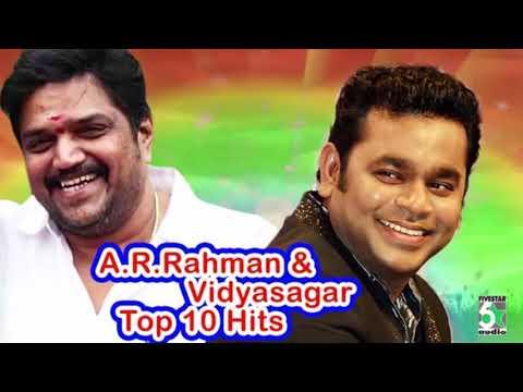 Video A.R.Rahman and Vidyasagar Super Hit Top 10 Audio Jukebox download in MP3, 3GP, MP4, WEBM, AVI, FLV January 2017