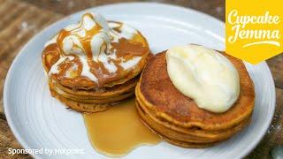Pumpkin Pancake Recipe | Cupcake Jemma by Cupcake Jemma