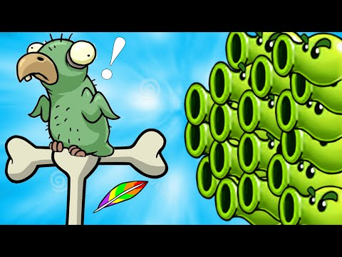 Plants vs. Zombies 2 - Knock knock, whos there? SPLIT PEA - Thời lượng: 105 giây.
