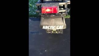 2. 2002 Arctic Cat 600 EFI Pantera