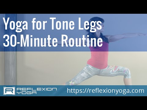 Yoga Classes – Yoga for Leg Strength. Start toning your legs with online yoga!
