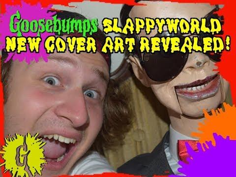 Goosebumps SlappyWorld - Please Do Not Feed The Weirdo Cover Art Revealed!