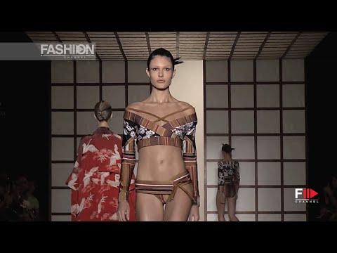 LENNY NIEMEYER Sao Paulo Summer 2017 beachwear collection by Fashion Channel видео