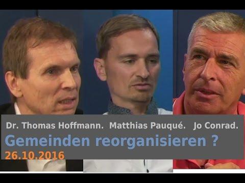 Gemeinden reorganisieren? Matthias Pauqué & Dr. Thomas Hoffmann | Bewusst.TV
