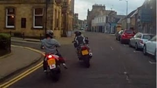 Hawick United Kingdom  city photos : Scooter Crashes In To Motorcycle