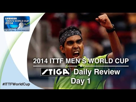 Cup - Subscribe here for more official Table Tennis highlights: http://bit.ly/ittfchannel. Watch all the action from day 1 at the LIEBHERR 2014 Women's World Cup by watching the Daily Review presented...