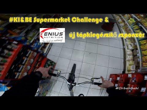 BE&KI Supermarket Challenge,Genius Nutrition új tápkiegészítő szponzor#vlog229