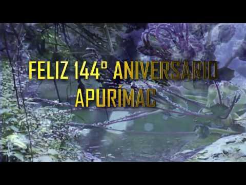 FELIZ 144° ANIVERSARIO APURÍMAC