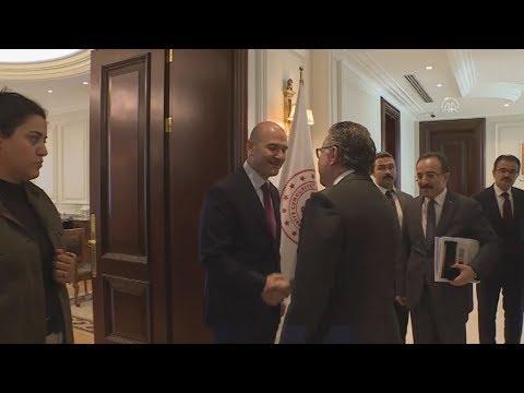 Επίσκεψη  Γ. Κουμουτσάκου  με  τον υπουργό Εσωτερικών Υποθέσεων της Τουρκίας