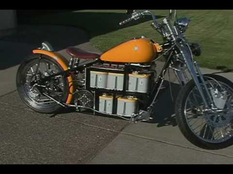 Electric Bobber Motorcycle