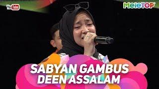 Video Sabyan Gambus Deen Assalam | Persembahan Live MeleTOP | Nabil & Tya Ariffin MP3, 3GP, MP4, WEBM, AVI, FLV April 2019