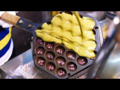 Taiwanese Street Food - BEST DESSERTS Egg Waffle, Bubble Tea Sandwich, Milk Mochi Taiwan - Thời lượng: 25 phút.