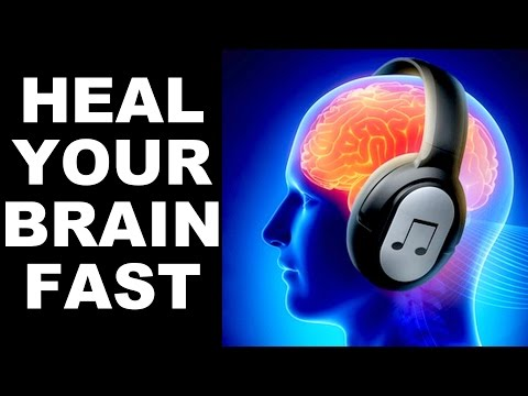 BRAIN HEALING SOUNDS : DOCTOR DESIGNED: FOR STUDY,  MEDITATION,  MEMORY, FOCUS : 100% RESULTS !