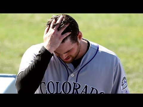 Colorado Rockies fall in fifth straight game as Los Angeles Dodgers dominate Ottavino late