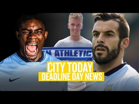Video: DEADLINE DAY NEWS   City Today   02 September