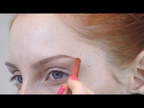 Updated Eyebrow Routine Makeup Tutorial For Redheads / Pale Fair Skin