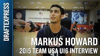 Markus Howard 2015 Team USA U16 Interview