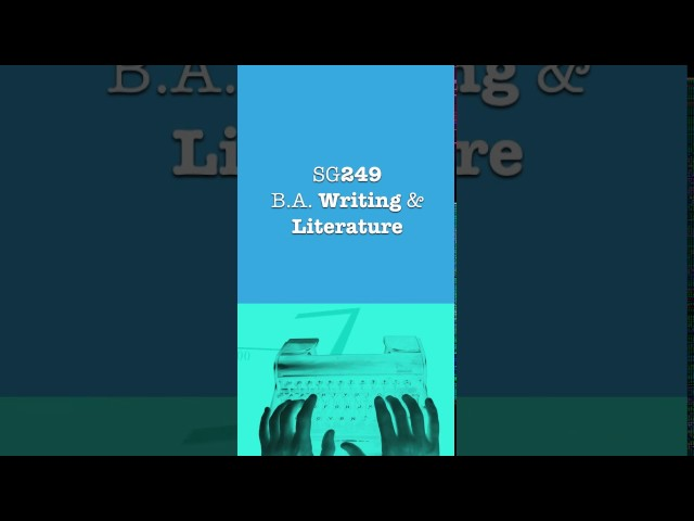Writing and Literature SG249