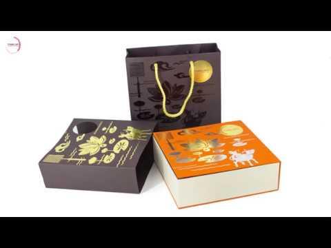Trải nghiệm khám phá hộp quà bánh Trung thu Thịnh Đạt 2017