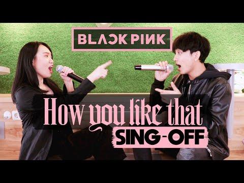 BLACKPINK - How You Like That (SING-OFF vs MOCHI ESKRIM) 37 KPOP SONGS MASHUP