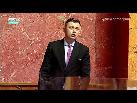 Prvi govor narodnog poslanika Samira Tandira u Skupštini Srbije