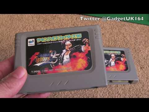 Sega Saturn King of Fighters 95 Dead Cart Fixes