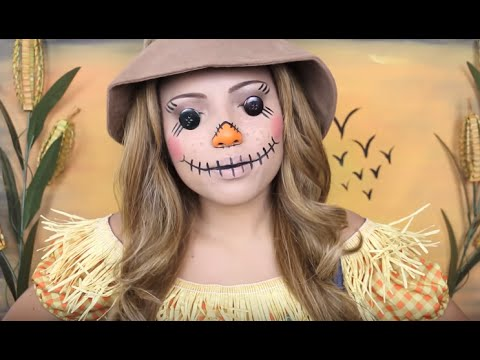 Creepy Scarecrow Makeup Tutorial