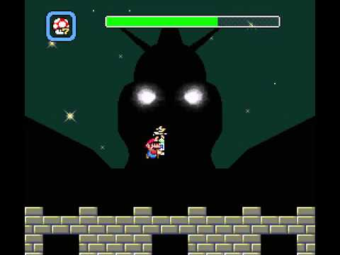"SMW Hack ""JUMP"" Custom Boss CLIMAX (Shattered Dreams Boss)"