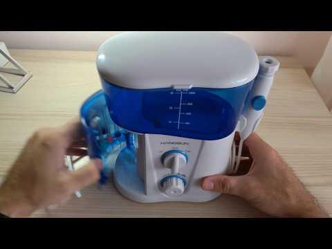 Recensione e test di idropulsore dentale Waterjet HOC300 Hangsun
