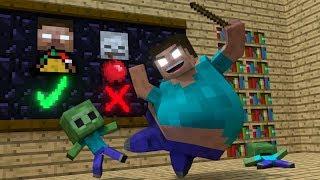 Video Zombie life - Minecraft Top 5 Life Animations MP3, 3GP, MP4, WEBM, AVI, FLV Oktober 2017