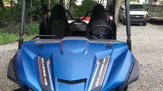 10. 2019 Yamaha Wolverine x2 back country blue