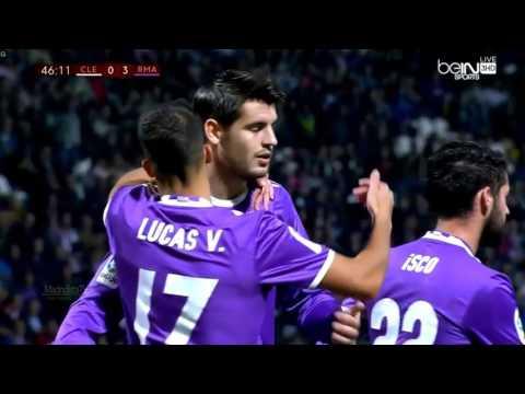 Cultural Leonesa vs Real Madrid 1 7   All Goals   26 10 2016 HD 720p HD