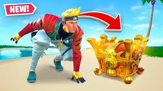 The *LEGENDARY* ONE CHEST Challenge In Fortnite!