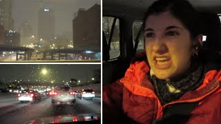 Stuck in snowstorm traffic for 2 hours after work and losing my mind! (Winter 2016 Vlog Series)Main Channel: http://www.youtube.com/user/6hrsofbatterylifeFacebook: http://www.facebook.com/6hrsbatterylifeTwitter: https://twitter.com/ghahknadiaTumblr: http://6hrsofbatterylife.tumblr.com/Instagram: http://instagram.com/6hrsofbatterylifeSnapchat: ghahknadiaStorie: ghahknadiaCamera:Canon Powershot ELPH 330 HS & iPhone 6Music By: DJ Grumblehttps://soundcloud.com/gbeatshttps://twitter.com/grumbshttp://grumble.bandcamp.com