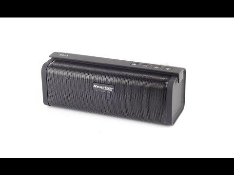 Reacher Altoparlante Bluetooth Portatile con radio FM