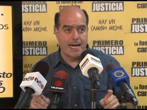 Julio Borges: Primero Justicia propone darle la propiedad de la tierra a 2 millones de familias que viven en barrios