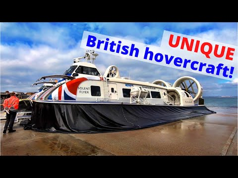 A trip on the UK's amazing hovercraft ferry service