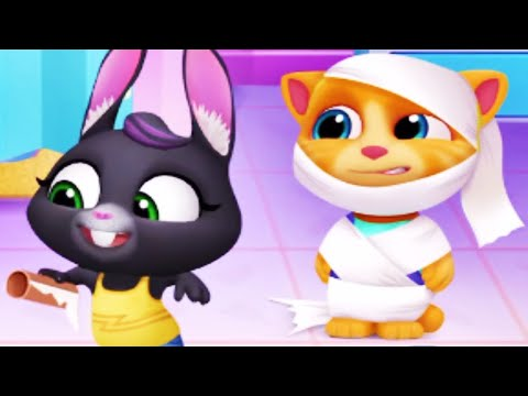El Gato TOM Y SUS AMIGOS, My Talking Tom Friends, ¡GINGER MOMIA! Nueva Actualización