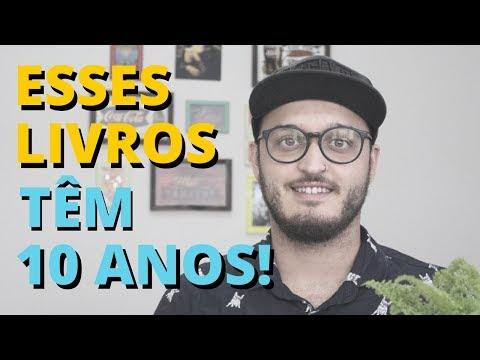 LIVROS QUE COMPLETAM 10 ANOS EM 2018 | #MeninoQueLe