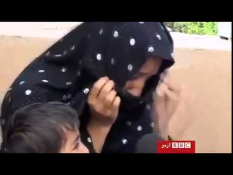 Widow Of Baloch Man Kidnapped & Killed By Pakistan Army