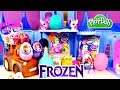 Video: Frozen Spongebob Barbie My Little Pony Cars Sofia The First Play Doh Kinder Surprise Eggs by DCTC