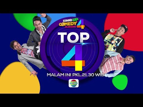 NAH TOP 4 NIH! Saksikan Stand Up Comedy Academy 4 Top 4! - 18 Oktober 2018