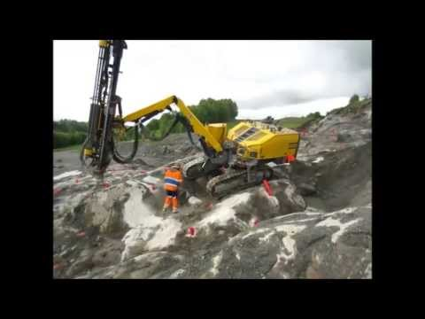 Atlas Copco ROC D9-01 RRC Test drilling