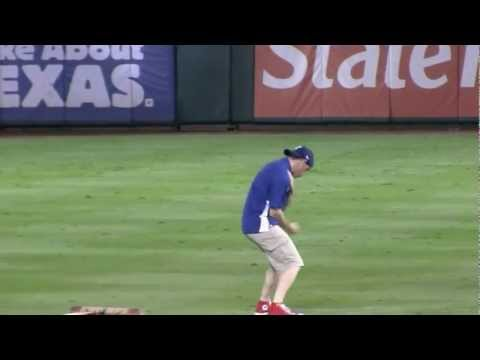 World Series Grounds Crew Guy Dancing