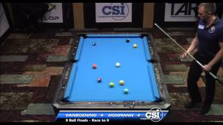 2014 CSI USBTC 9 Ball Final: Shane Van Boening Vs Thorsten Hohmann