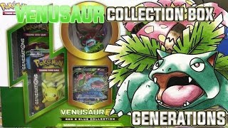 Pokémon Cards - Venusaur EX Red & Blue Collection Box Opening! AN EX IN EVERY PACK! by The Pokémon Evolutionaries