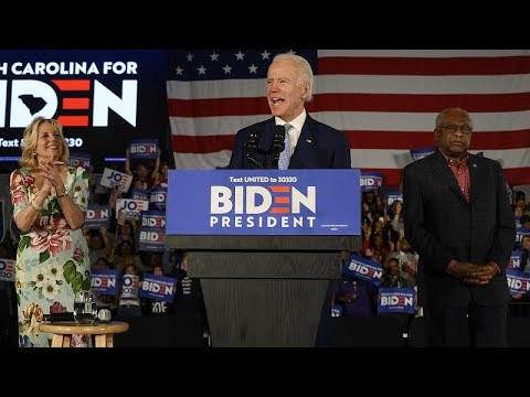 USA: Biden siegt in South Carolina und warnt vor Sande ...