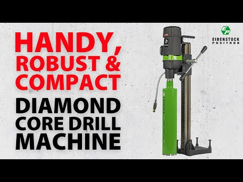 Diamond Core Drill Machine Video
