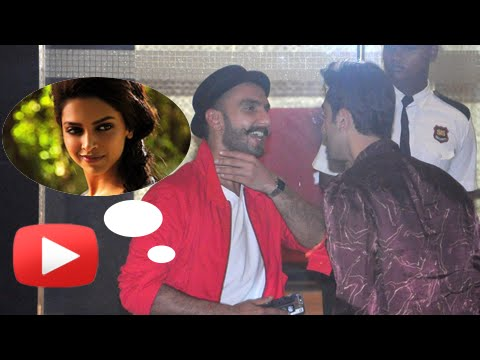 Ranveer Singh and Ranbir Kapoor Are the New BFFs o